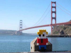 George par LEGO à San Fransisco