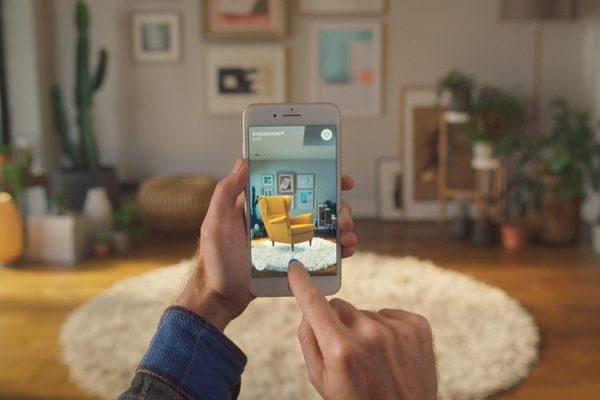 Ikea et la réalité augmentée en décoration