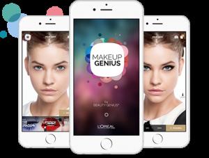 L'expérience client online et le MakeUp Genius de l'Oréal