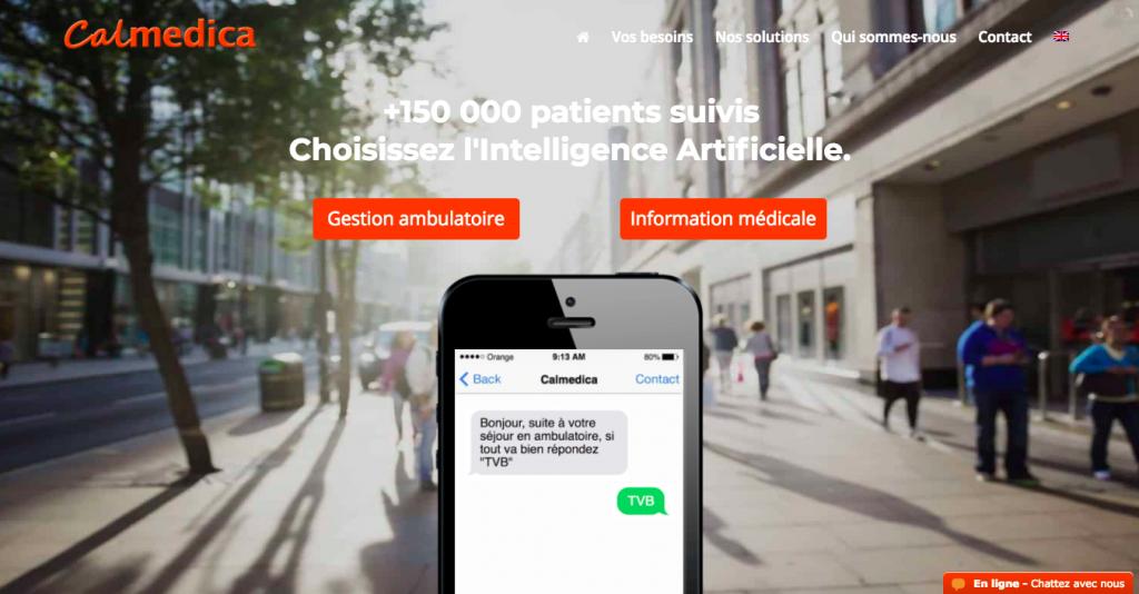Calmedica, solution de chatbot en ambulatoire